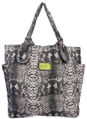 Marc by Marc Jacobs Marc Jacobs Nylon Animal Print Tote