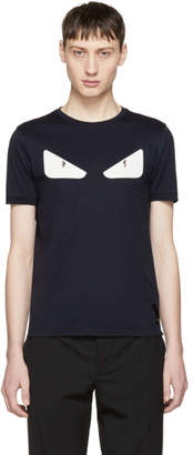 Fendi Navy Bag Bugs T-Shirt
