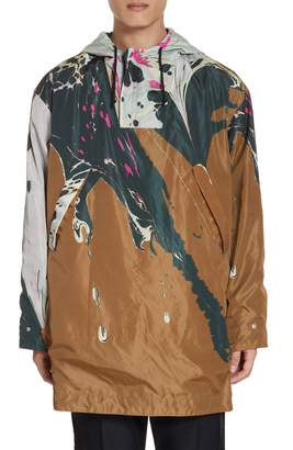Dries Van Noten Reversible Hooded Anorak
