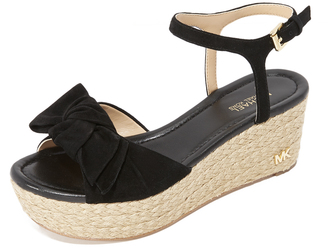 MICHAEL Michael Kors Willa Mid Wedges $150 thestylecure.com