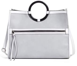 Leith Round Handle Zip Tote