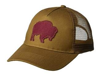 Mountain Khakis Bison Patch Trucker Cap