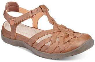 Bare Traps Florrie Rebound TechnologyTM Flat Sandals, Created for Macy's