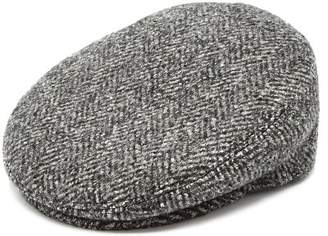 Isabel Marant - Gabor Herringbone Wool Cap - Womens - Grey