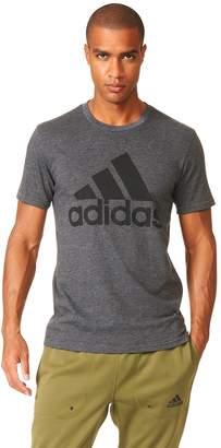 adidas Big & Tall Logo Performance Tee