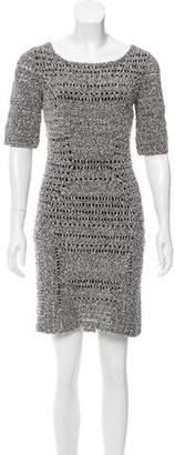 Rag & Bone Crocheted Mini Dress