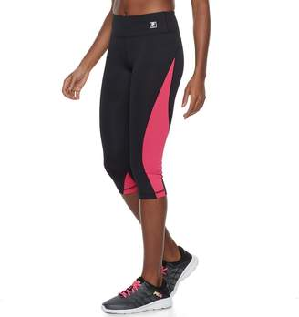 Fila Sport Women's SPORT Color Block Capri Leggings