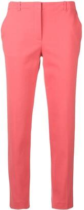 Emporio Armani slim cropped trousers