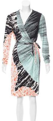 Diane von Furstenberg Silk Valencia Dress