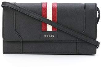 Bally stripe shoulder bag