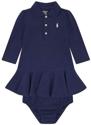 Polo Ralph Lauren Logo Polo Dress and Bloomers