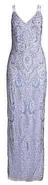 Aidan Mattox Women's Embellished Column Gown