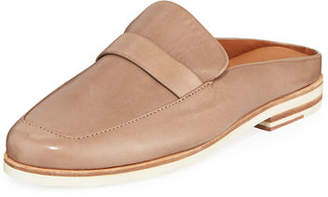 Gentle Souls Everett Leather Loafer Mules