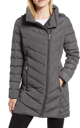 MICHAEL Michael Kors Packable Down Hooded Jacket