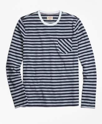 Long-Sleeve Sailor Stripe Tee Shirt $39.50 thestylecure.com