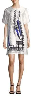 MSGM Graphic Shift Dress