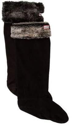 Hunter Fleece Faux Fur Socks