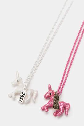 Ardene BFF Unicorn Necklaces