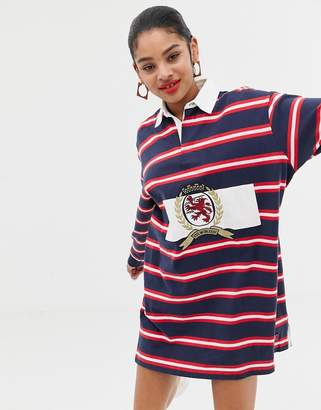 Tommy Jeans capsule crest rugby dress