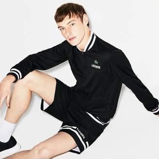 Lacoste Men's SPORT Pique Zip Tennis Jacket
