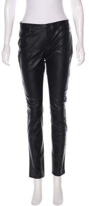 Blank NYC Vegan Leather Low-Rise Pants w/ Tags