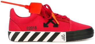 Off-White Red low top sneakers