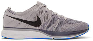 Nike Grey Flyknit Trainer Sneakers