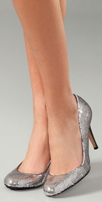 Report Signature Shoes Celine Sequin Pump