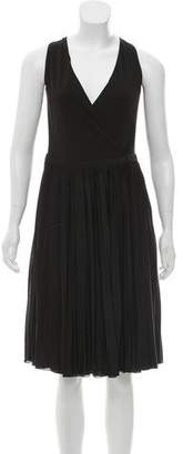 Gucci Pleated Midi Dress
