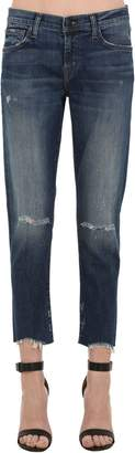 J Brand Mid Rise Sadey Slim Straight Denim Jeans