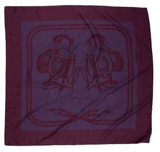 Hermes Brides de Gala Dip-Dye Silk Scarf