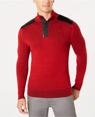 INC International Concepts I.n.c. Men Jasper Quarter-Zip Sweater