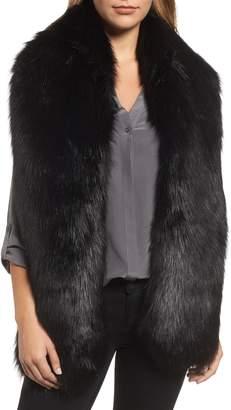 Halogen Faux Fox Fur Stole