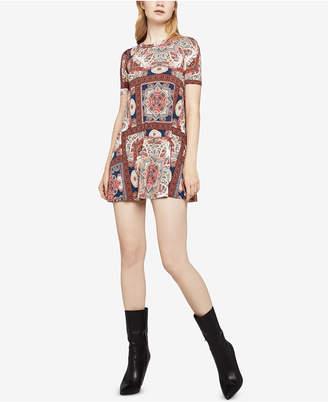 BCBGeneration Tropical Ripple A-Line Dress