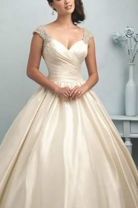 Allure Bridals Cap-Sleeve Bridal Gown