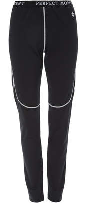 Perfect Moment Printed Stretch-Jersey Thermal Leggings