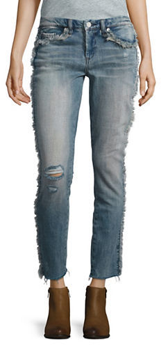Blank NYC Blank Nyc Distressed Cropped Jeans