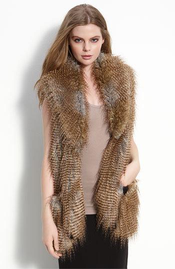 Twelfth Street by Cynthia Vincent 'Arizona' Faux Fur Vest