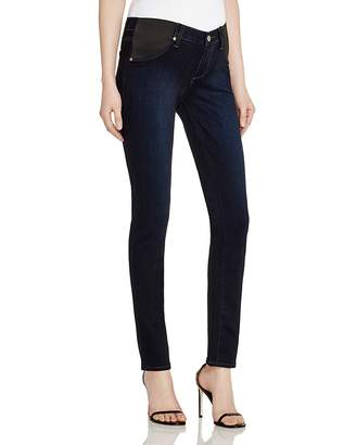 Paige Denim Skyline Skinny Maternity Jeans in Mona $199 thestylecure.com