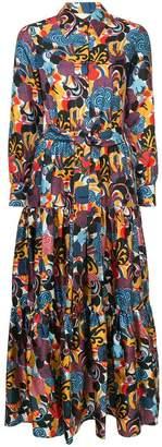 DAY Birger et Mikkelsen La Doublej printed maxi skirt