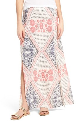 Women's Roxy Sri Vibe Print Maxi Skirt $49.50 thestylecure.com