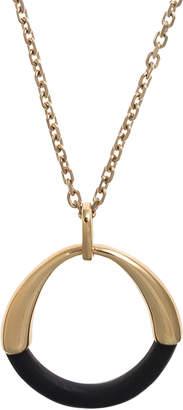 Riviera Hissia Pendant in 18k Gold & Ebony