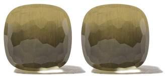 Pomellato 18kt rose & white gold Nudo stud earrings