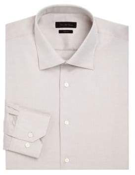 COLLECTION Textured Button-Down Dress Shirt