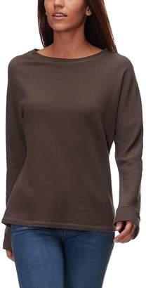 Monrow Shirred Back Long-Sleeve Top - Women's