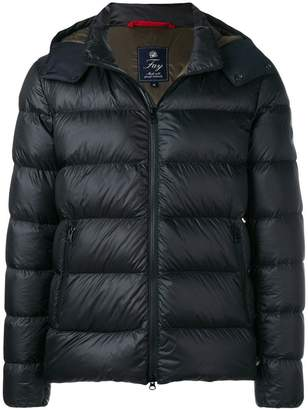Fay detachable hood padded jacket
