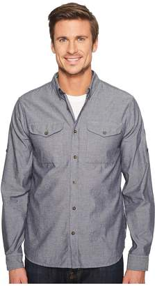 Fjallraven Ovik Chambray Shirt Men's Long Sleeve Button Up