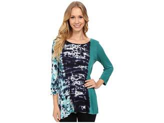 Miraclebody Jeans BFF Top w/ Body-Shaping Inner Shell Women's Clothing