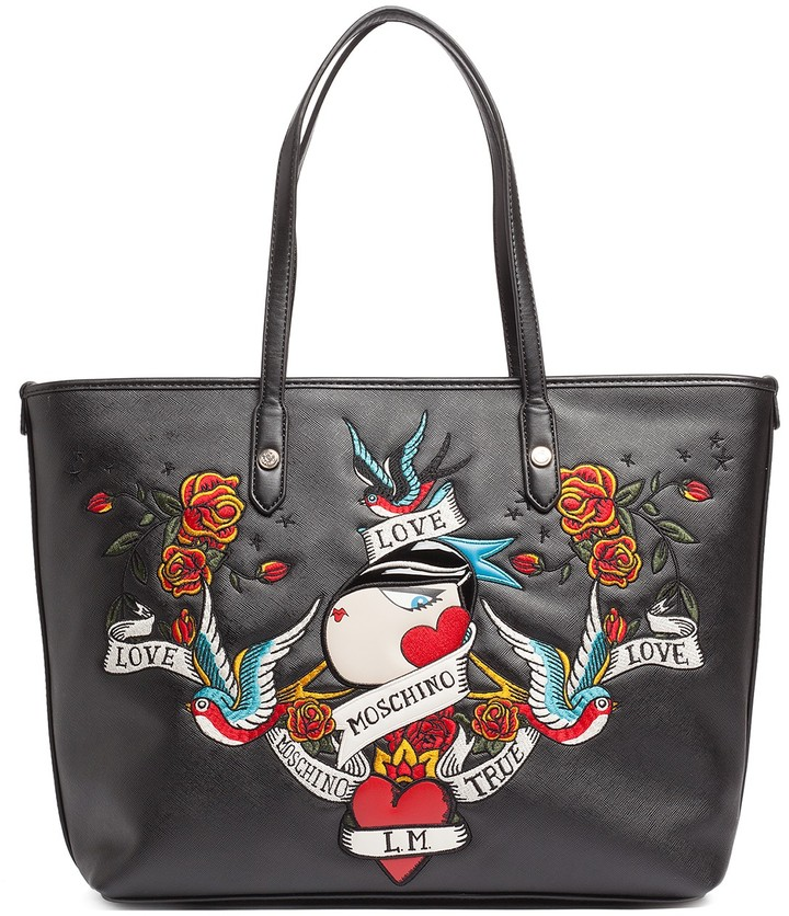 Love Moschino LOVE Moschino Applique Tote