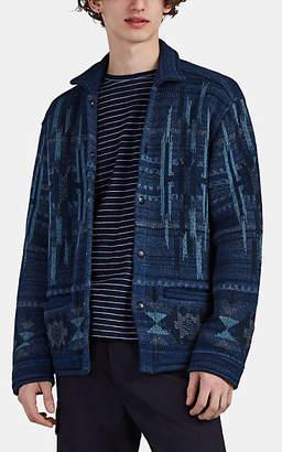 Ralph Lauren RRL Men's Chimayo Cotton-Blend Jacquard Workshirt